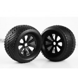 WC1051 Truggy Tires/Black...