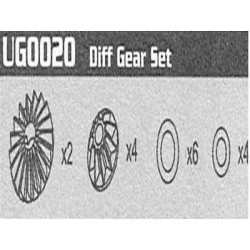 UG0020 Diff Gear Set Raptor