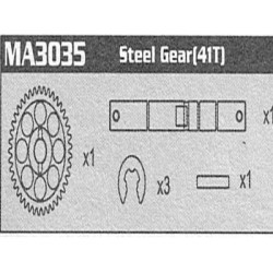 MA3035 Steel Second Gear...
