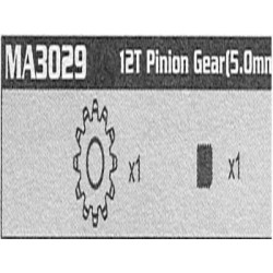 MA3029 12T Pinion Gear...