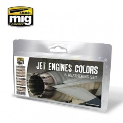 JET ENGINES COLORS AND...